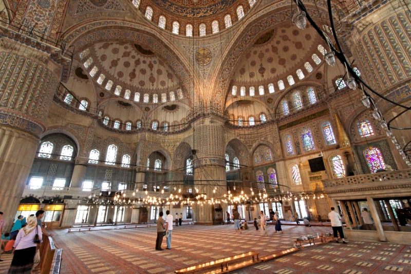 Mosques Turkey Blue Mosque Istanbul Turkey