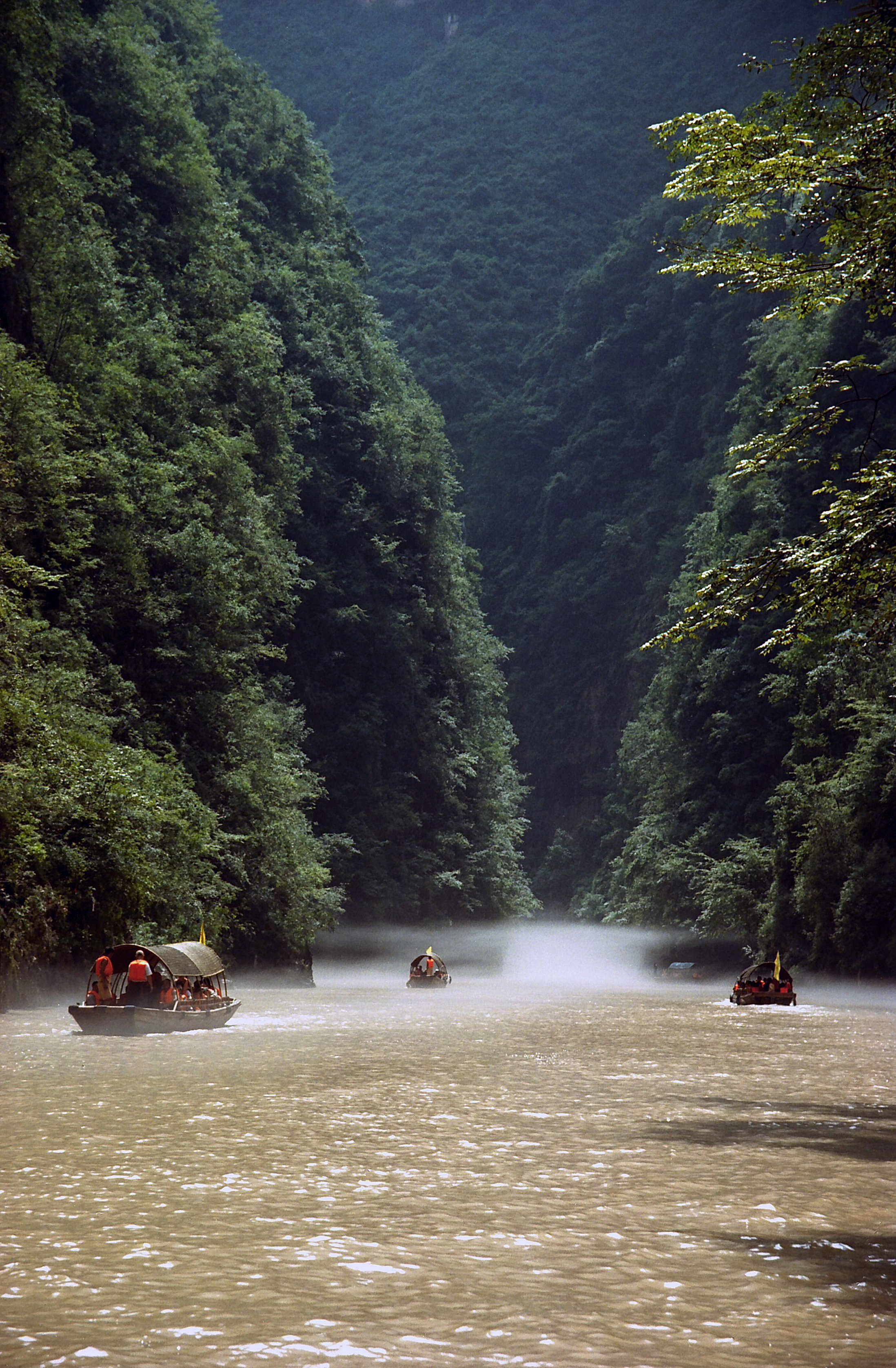 Daning river, Hubei China 2.jpg - Daning river