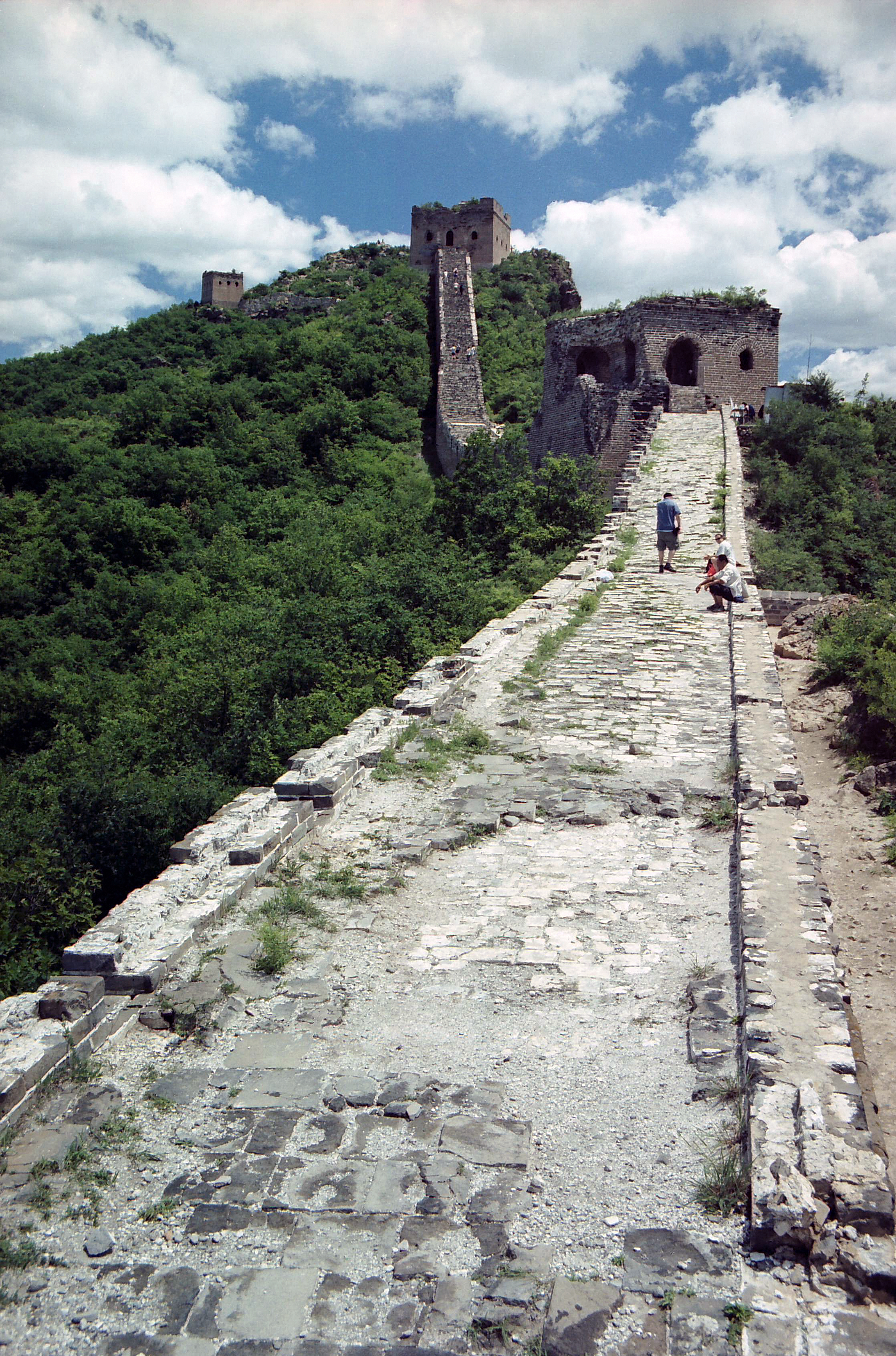 Great Wall of China, Beijing China.jpg - Great Wall of China