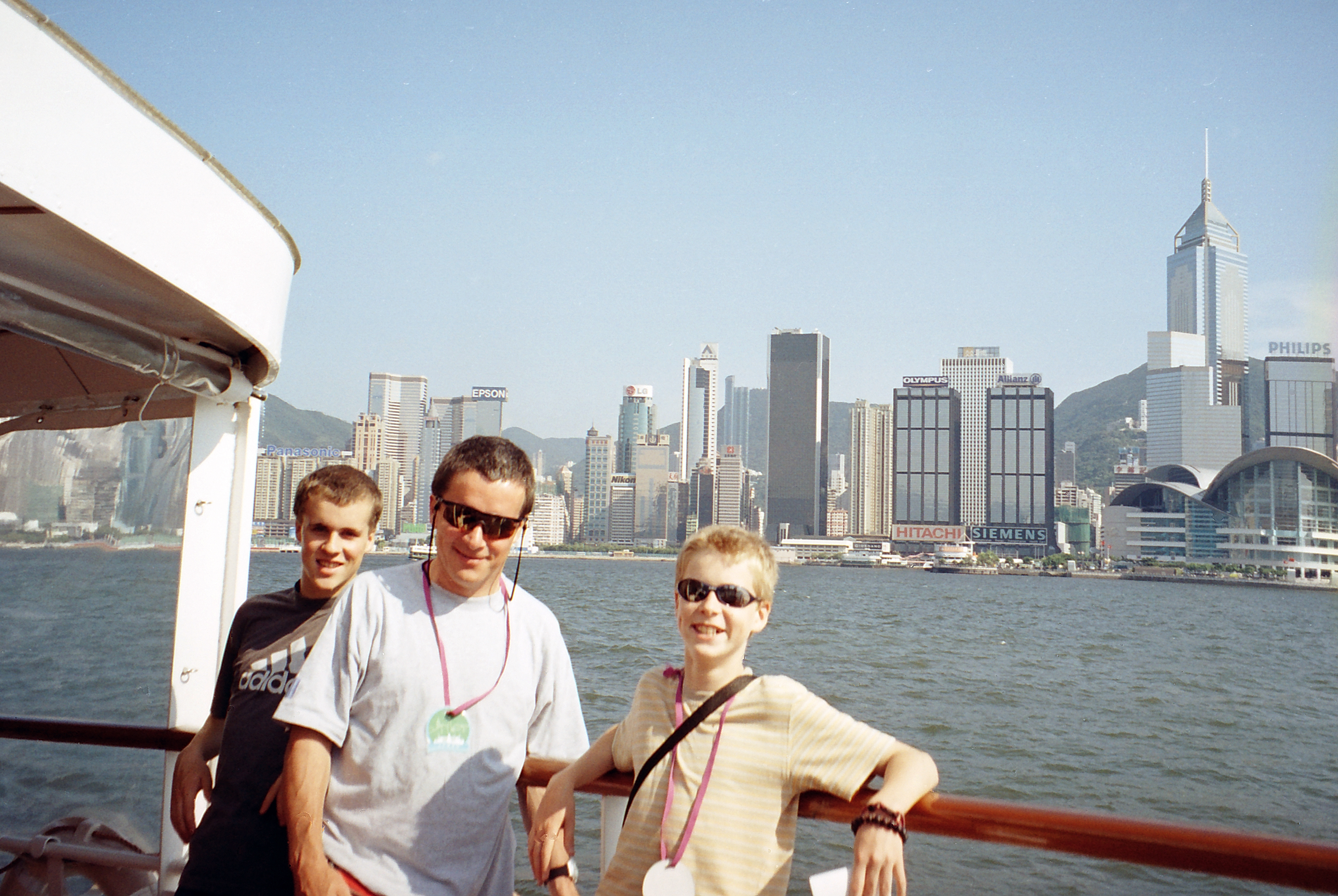 Maurice, Tom and Nic on boat, Hong Kong China.jpg