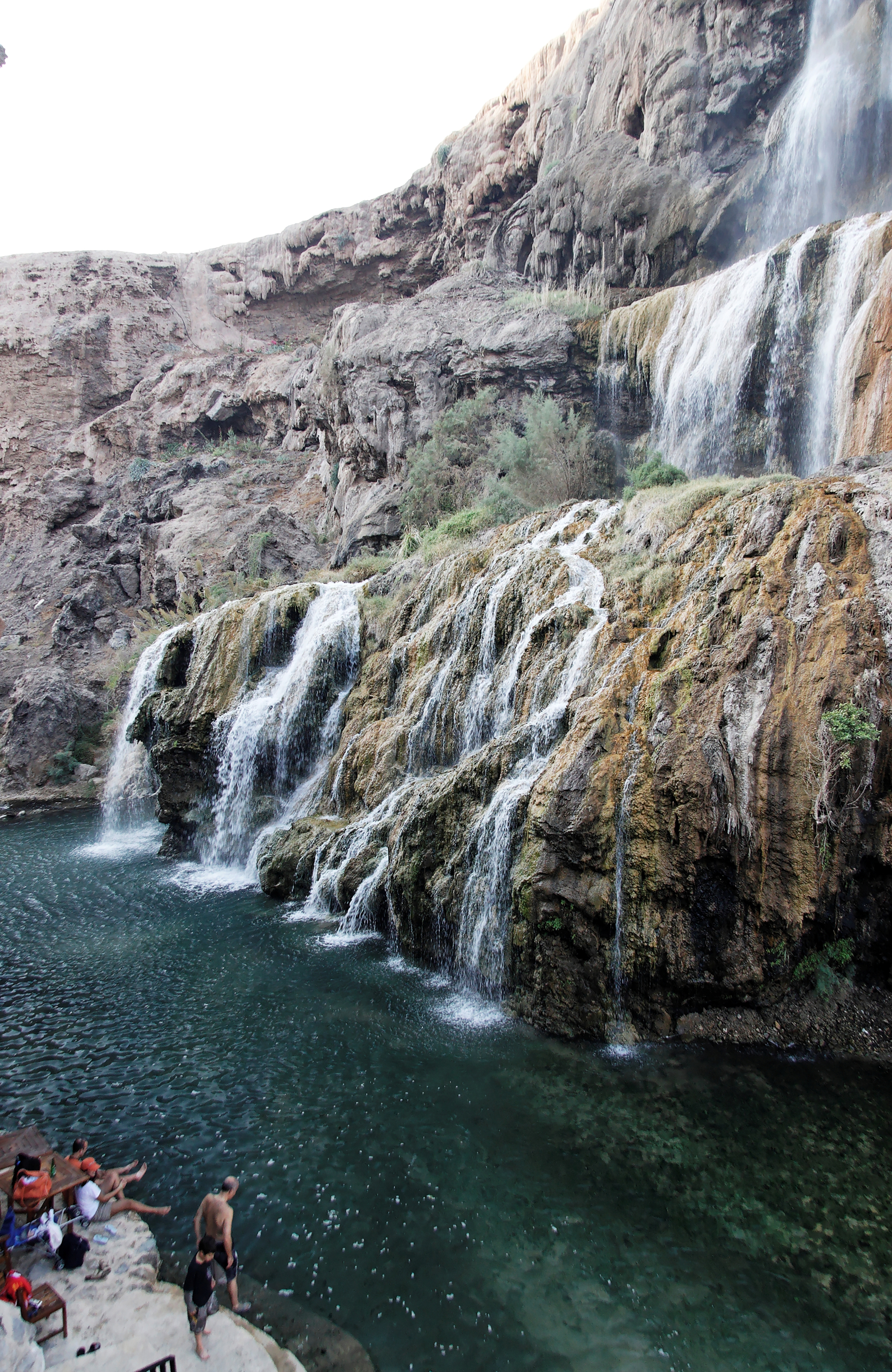 Waterfalls, Hammamat Ma'in Jordan 3.jpg - Waterfalls