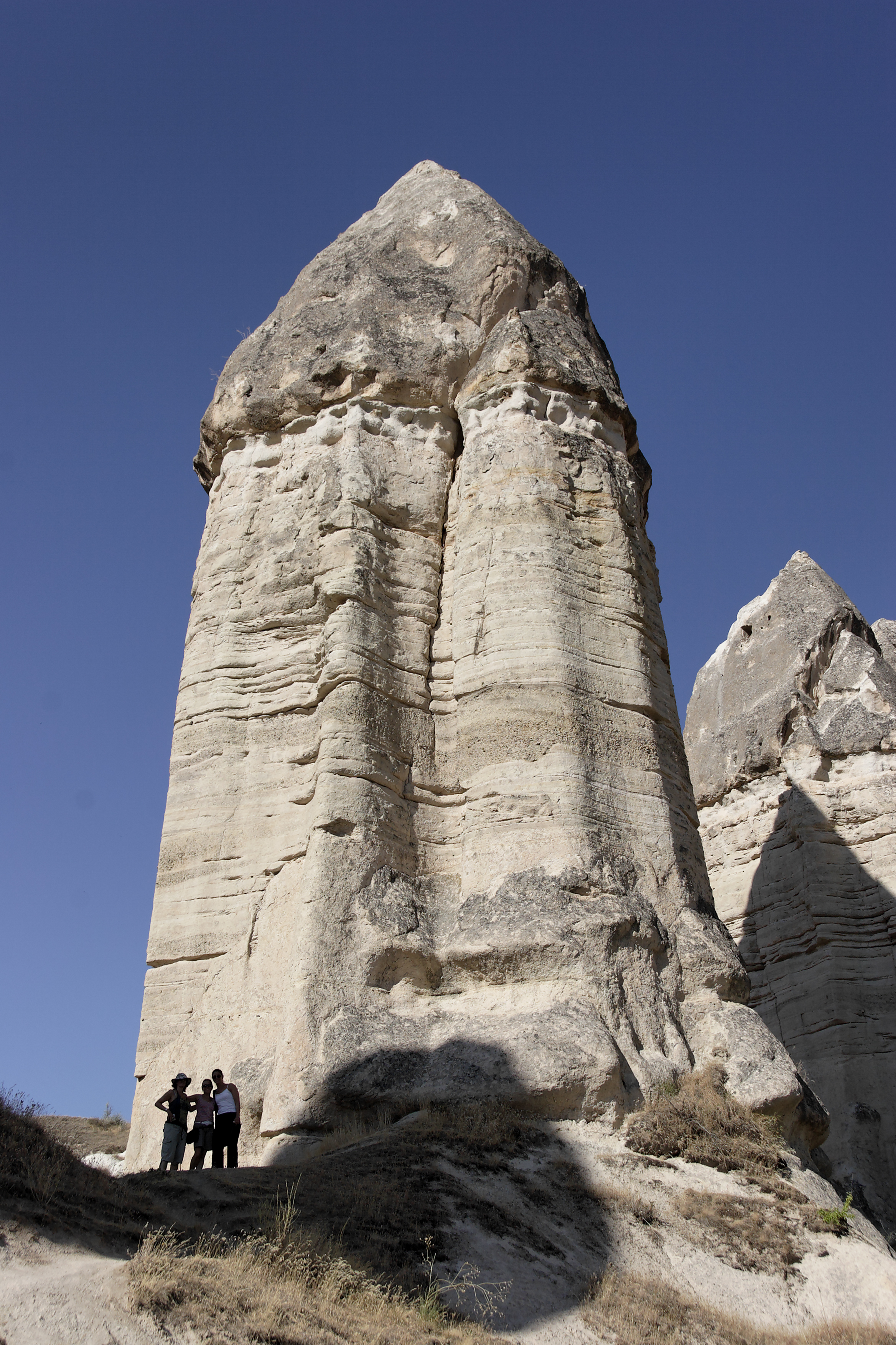 Fairy chimney rock formations, Goreme, Cappadocia Turkey 37.jpg - Goreme, Cappadocia, Turkey