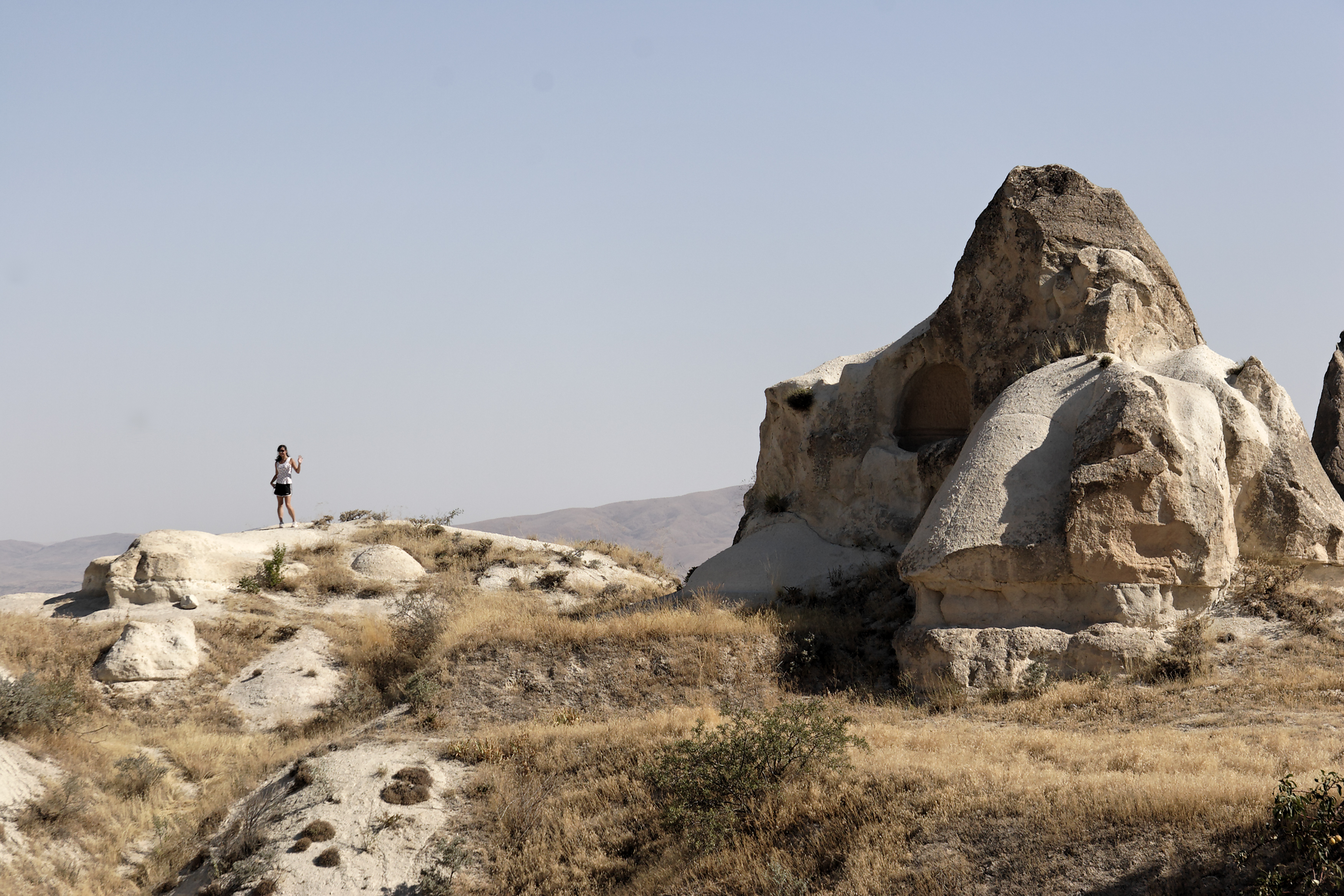 Fairy chimney rock formations, Goreme, Cappadocia Turkey 39.jpg - Goreme, Cappadocia, Turkey