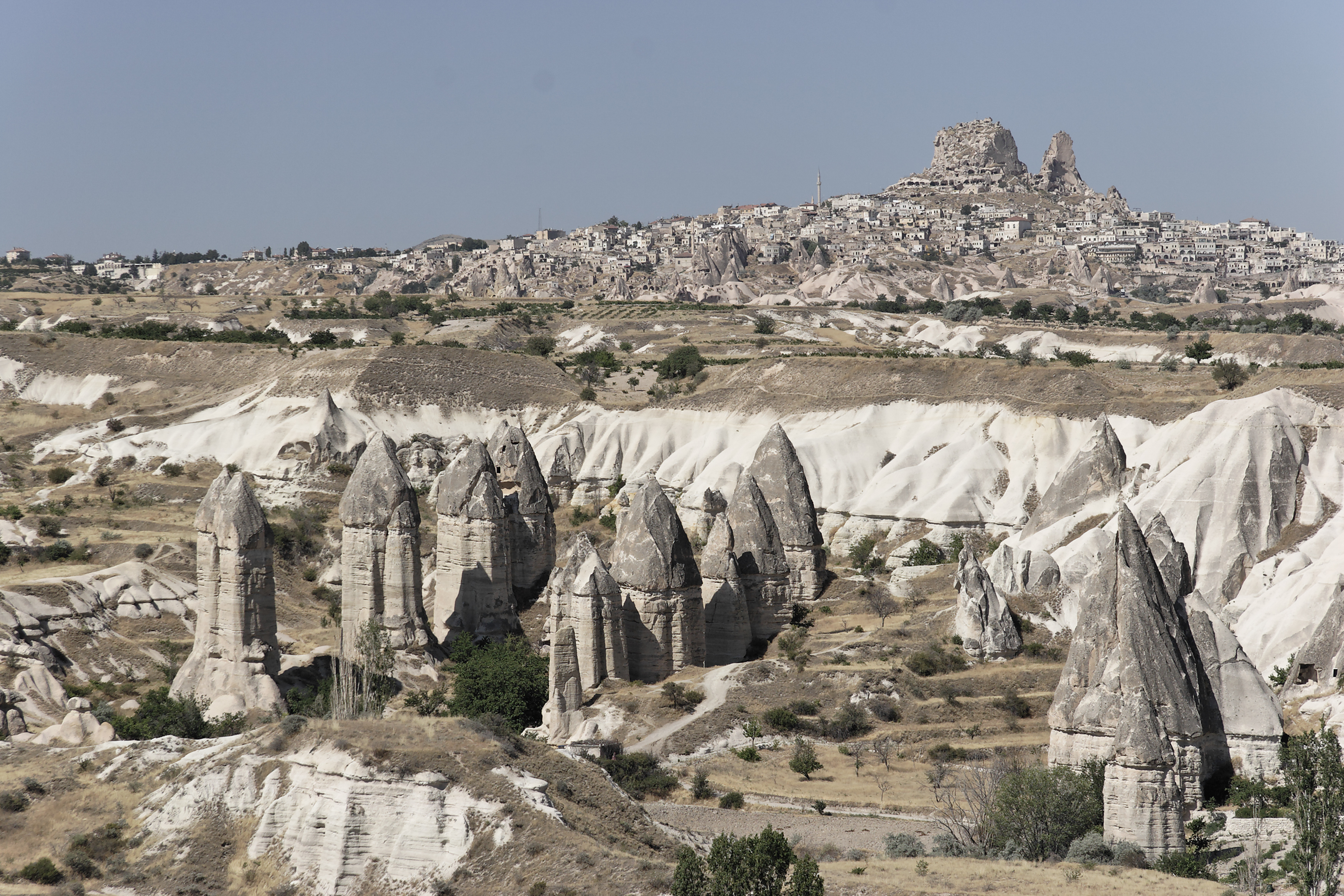 Fairy chimney rock formations, Goreme, Cappadocia Turkey 42.jpg - Goreme, Cappadocia, Turkey